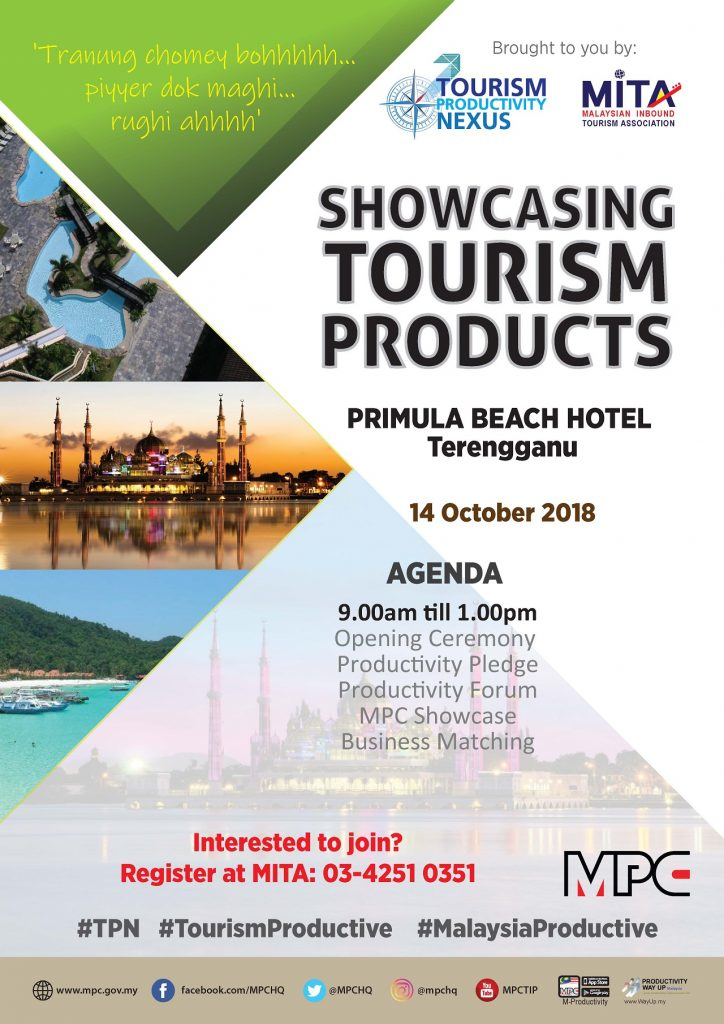 Showcasing Tourism Products 2