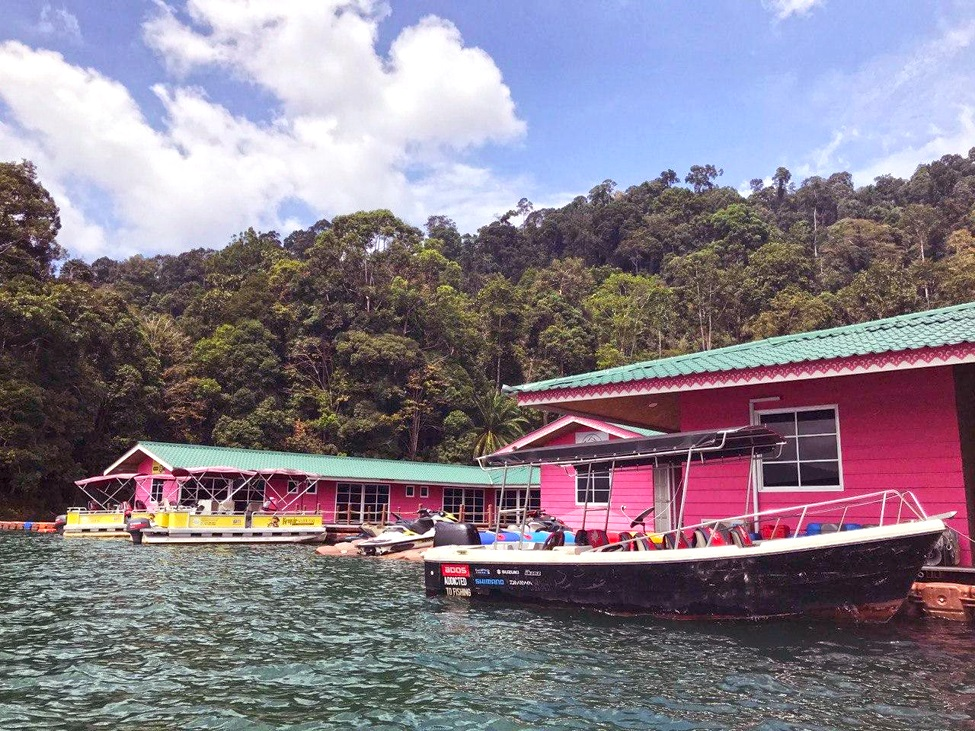 Kenyir Eco Resort, one of the famous floating resort